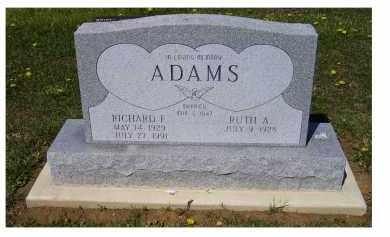 ADAMS, RICHARD F. - Adams County, Ohio   RICHARD F. ADAMS - Ohio Gravestone Photos