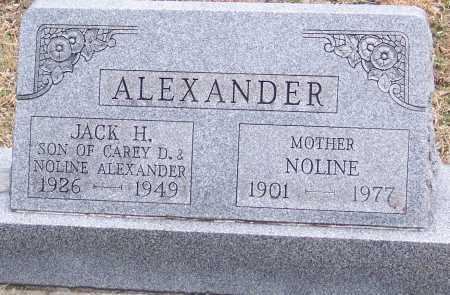 MCCANN ALEXANDER, NOLINE - Adams County, Ohio | NOLINE MCCANN ALEXANDER - Ohio Gravestone Photos