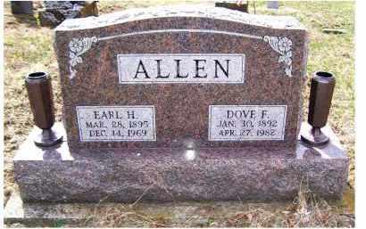 ALLEN, EARL H. - Adams County, Ohio | EARL H. ALLEN - Ohio Gravestone Photos