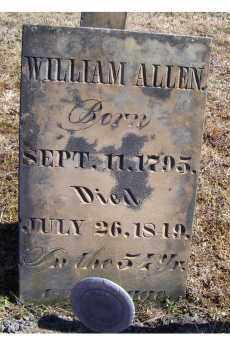 ALLEN, WILLIAM - Adams County, Ohio | WILLIAM ALLEN - Ohio Gravestone Photos