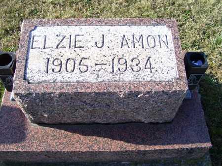 AMON, ELZIE J. - Adams County, Ohio   ELZIE J. AMON - Ohio Gravestone Photos