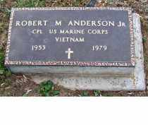 ANDERSON, ROBERT M. JR. - Adams County, Ohio | ROBERT M. JR. ANDERSON - Ohio Gravestone Photos
