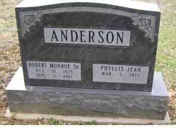 ANDERSON, ROBERT MONROE SR. - Adams County, Ohio | ROBERT MONROE SR. ANDERSON - Ohio Gravestone Photos