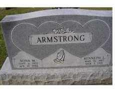 ARMSTRONG, KENNETH L. - Adams County, Ohio | KENNETH L. ARMSTRONG - Ohio Gravestone Photos