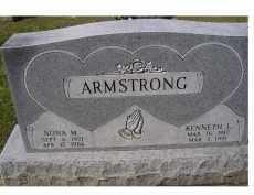 ARMSTRONG, NONA M. - Adams County, Ohio | NONA M. ARMSTRONG - Ohio Gravestone Photos