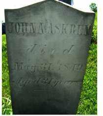 ASKREN, JOHN A. - Adams County, Ohio   JOHN A. ASKREN - Ohio Gravestone Photos