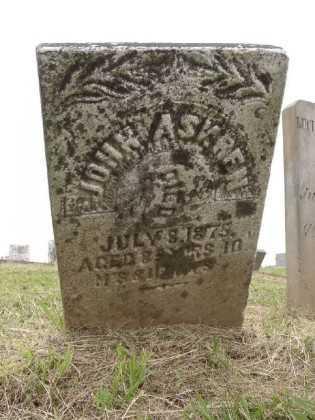 ASKREN, JOHN H - Adams County, Ohio | JOHN H ASKREN - Ohio Gravestone Photos