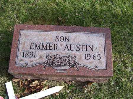 AUSTIN, EMMER - Adams County, Ohio | EMMER AUSTIN - Ohio Gravestone Photos