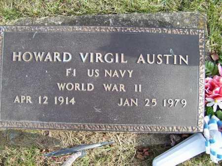AUSTIN, HOWARD VIRGIL - Adams County, Ohio | HOWARD VIRGIL AUSTIN - Ohio Gravestone Photos
