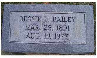 BAILEY, BESSIE F. - Adams County, Ohio | BESSIE F. BAILEY - Ohio Gravestone Photos