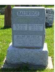 BALDRIDGE, WILLIAM - Adams County, Ohio | WILLIAM BALDRIDGE - Ohio Gravestone Photos