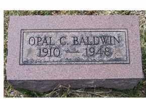 BALDWIN, OPAL C. - Adams County, Ohio | OPAL C. BALDWIN - Ohio Gravestone Photos