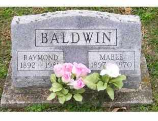 BALDWIN, MABLE - Adams County, Ohio | MABLE BALDWIN - Ohio Gravestone Photos