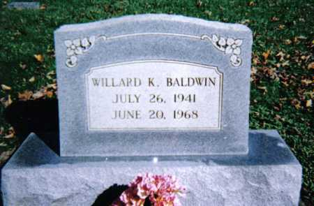 BALDWIN, WILLARD K. - Adams County, Ohio | WILLARD K. BALDWIN - Ohio Gravestone Photos