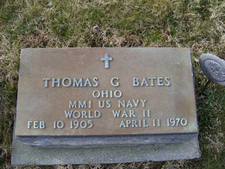BATES, THOMAS G. - Adams County, Ohio | THOMAS G. BATES - Ohio Gravestone Photos