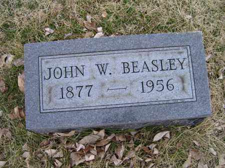 BEASLEY, JOHN W. - Adams County, Ohio   JOHN W. BEASLEY - Ohio Gravestone Photos
