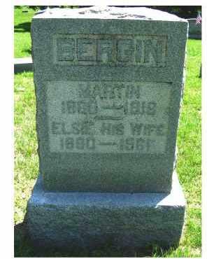 BERGIN, ELSIE - Adams County, Ohio | ELSIE BERGIN - Ohio Gravestone Photos
