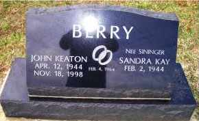BERRY, SANDRA KAY - Adams County, Ohio | SANDRA KAY BERRY - Ohio Gravestone Photos