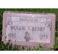 BERRY, MOLLIE S. - Adams County, Ohio   MOLLIE S. BERRY - Ohio Gravestone Photos