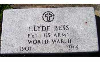 BESS, CLYDE - Adams County, Ohio   CLYDE BESS - Ohio Gravestone Photos