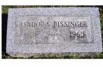 BISSINGER, ISADORA - Adams County, Ohio | ISADORA BISSINGER - Ohio Gravestone Photos