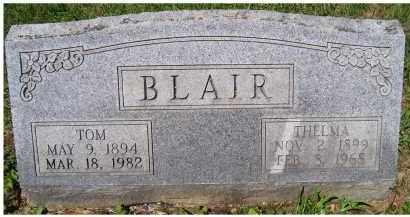BLAIR, THELMA - Adams County, Ohio | THELMA BLAIR - Ohio Gravestone Photos