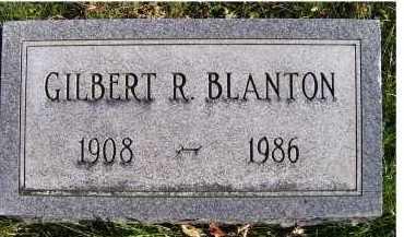 BLANTON, GILBERT R. - Adams County, Ohio | GILBERT R. BLANTON - Ohio Gravestone Photos