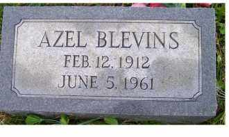 BLEVINS, AZEL - Adams County, Ohio | AZEL BLEVINS - Ohio Gravestone Photos