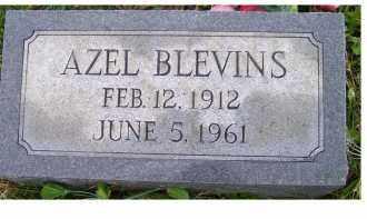 BLEVINS, AZEL - Adams County, Ohio   AZEL BLEVINS - Ohio Gravestone Photos