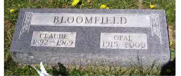 BLOOMFIELD, CLAUDE - Adams County, Ohio | CLAUDE BLOOMFIELD - Ohio Gravestone Photos