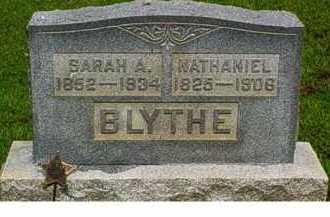 BLYTHE, NATHANIEL - Adams County, Ohio | NATHANIEL BLYTHE - Ohio Gravestone Photos
