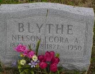 BLYTHE, CORA - Adams County, Ohio | CORA BLYTHE - Ohio Gravestone Photos