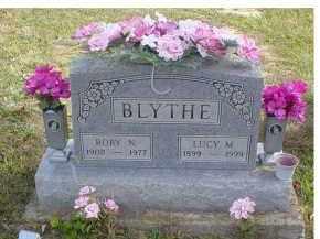 BLYTHE, ROBY N. - Adams County, Ohio | ROBY N. BLYTHE - Ohio Gravestone Photos