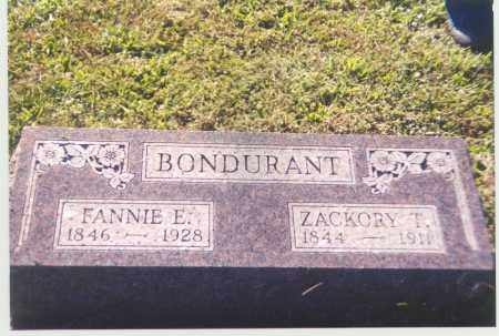 BONDURANT, ELIZABETH - Adams County, Ohio | ELIZABETH BONDURANT - Ohio Gravestone Photos