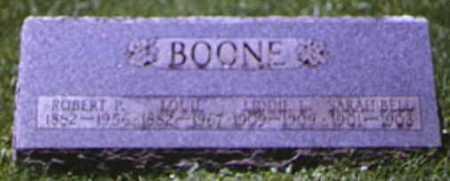 BOONE, SARAH BELL - Adams County, Ohio | SARAH BELL BOONE - Ohio Gravestone Photos