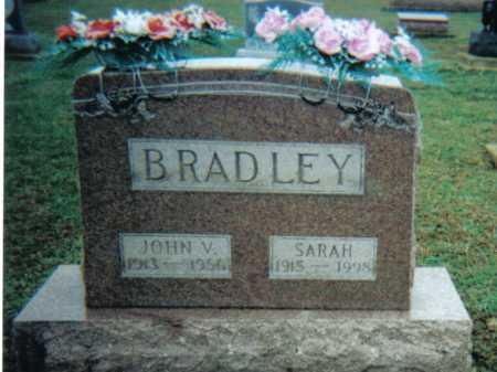BRADLEY, JOHN V. - Adams County, Ohio   JOHN V. BRADLEY - Ohio Gravestone Photos