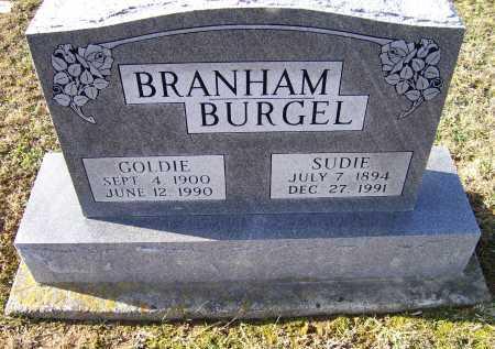 BRANHAM BURGEL, GOLDIE - Adams County, Ohio   GOLDIE BRANHAM BURGEL - Ohio Gravestone Photos