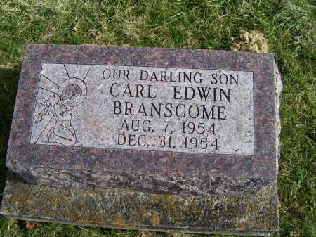 BRANSCOME, CARL EDWIN - Adams County, Ohio | CARL EDWIN BRANSCOME - Ohio Gravestone Photos