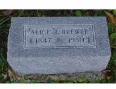 BREWER, ALICE J. - Adams County, Ohio | ALICE J. BREWER - Ohio Gravestone Photos