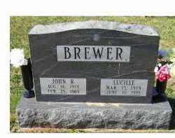 BREWER, JOHN R. - Adams County, Ohio | JOHN R. BREWER - Ohio Gravestone Photos