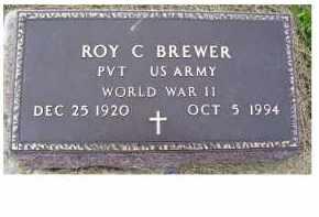 BREWER, ROY C. - Adams County, Ohio | ROY C. BREWER - Ohio Gravestone Photos