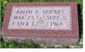 BRICKEY, RALPH E. - Adams County, Ohio | RALPH E. BRICKEY - Ohio Gravestone Photos