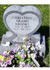BROOKS, CHRISTINA DEANN - Adams County, Ohio | CHRISTINA DEANN BROOKS - Ohio Gravestone Photos