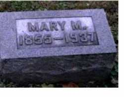 BROOKS, MARY M. - Adams County, Ohio | MARY M. BROOKS - Ohio Gravestone Photos