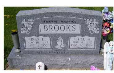 BROOKS, ETHEL A. - Adams County, Ohio | ETHEL A. BROOKS - Ohio Gravestone Photos