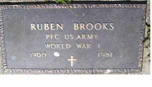 BROOKS, RUBEN - Adams County, Ohio | RUBEN BROOKS - Ohio Gravestone Photos