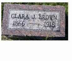 BROWN, CLARA J. - Adams County, Ohio   CLARA J. BROWN - Ohio Gravestone Photos