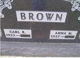 BROWN, ANNA M. - Adams County, Ohio | ANNA M. BROWN - Ohio Gravestone Photos