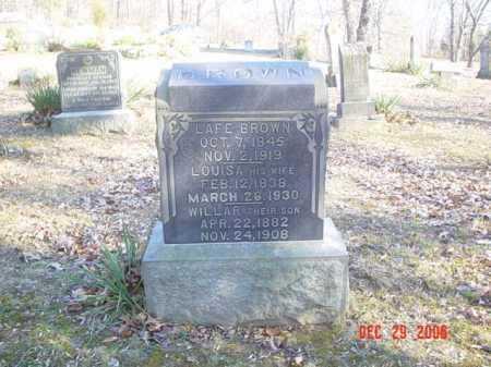 BROWN, WILLAR - Adams County, Ohio | WILLAR BROWN - Ohio Gravestone Photos