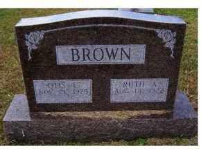 BROWN, OTIS L. - Adams County, Ohio | OTIS L. BROWN - Ohio Gravestone Photos